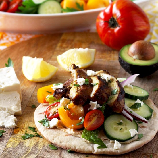 Chicken Shawarma Wrap (Oven Roasted or Grilled)