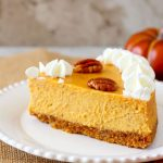 Pumpkin Pecan Cheesecake ~ Perfect Every Time!