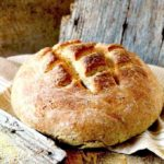 A round loaf of German bread