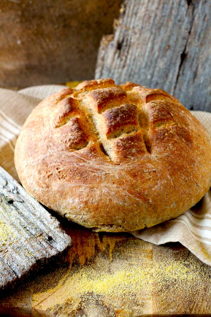 Bauernbrot ~ German Farmer-Style Bread