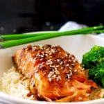 Honey Ginger Salmon ~ Dinner in 20 Minutes!
