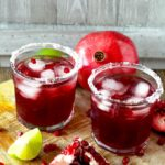 Tart, sweet and perfect. This Pomegranate Margarita is the best and prettiest margarita ever!