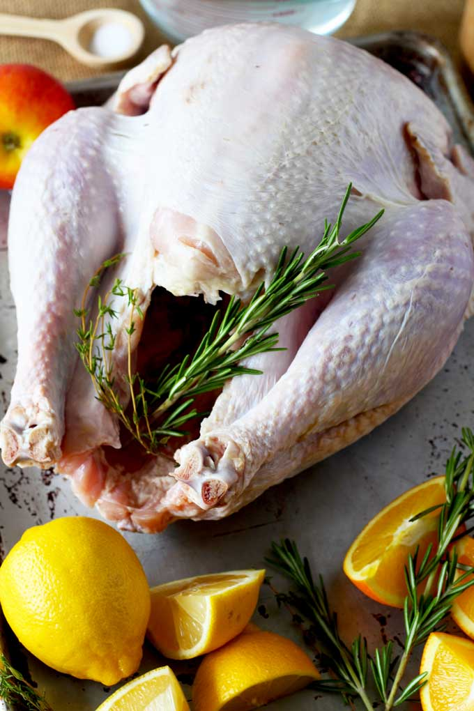 Do you want incredibly moist, delicious, perfectly roasted and golden turkey every time? Look no further! This Brined and Roasted Turkey turns out perfect every time!