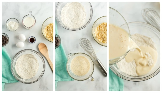 How To Make Pancakes step by step photos