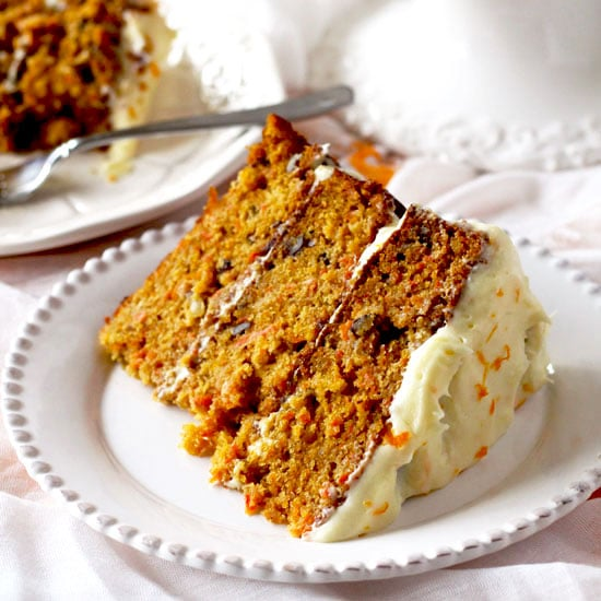 Carrot Cake With Orange Grand Marnier Cream Cheese