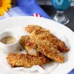 Crunchy Macadamia Nut Crusted Chicken Tenders