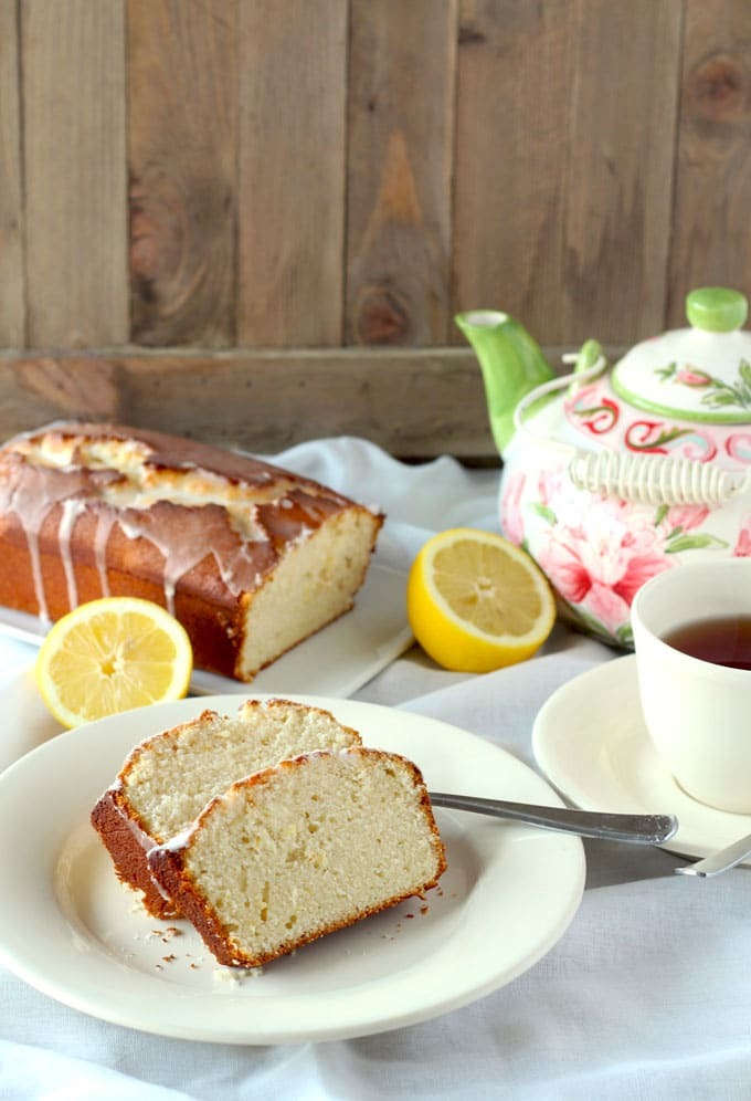 Lemon Glaze For Tea Cakes