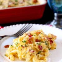Creamy, cheesy, bacon-y and scrumptious this easy to make Mac and Cheese Carbonara is an exciting alternative to the delicious classic Mac and Cheese we all love!