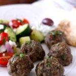 Baked Greek Meatballs