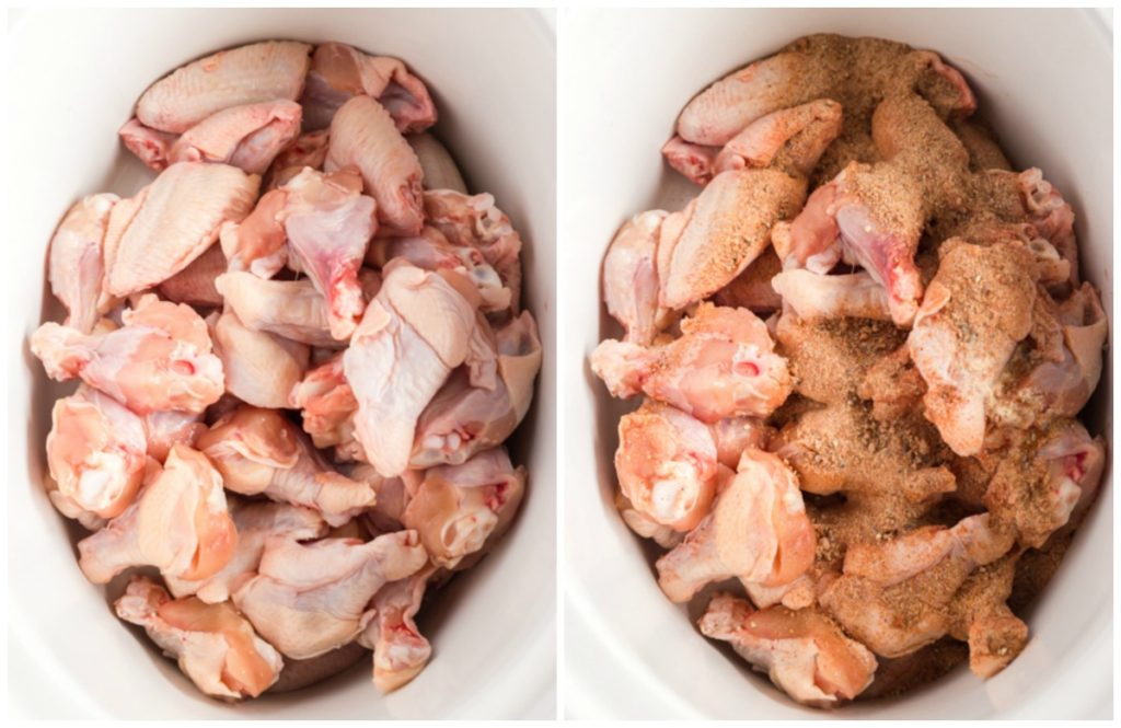 Step By Step Photos on How To Make Crock Pot Chicken Wings