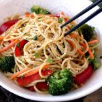 Asian Peanut Sesame Noodles