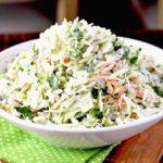Creamy Cilantro Lime Coleslaw Recipe