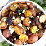 Crispy Roasted Greek Potatoes