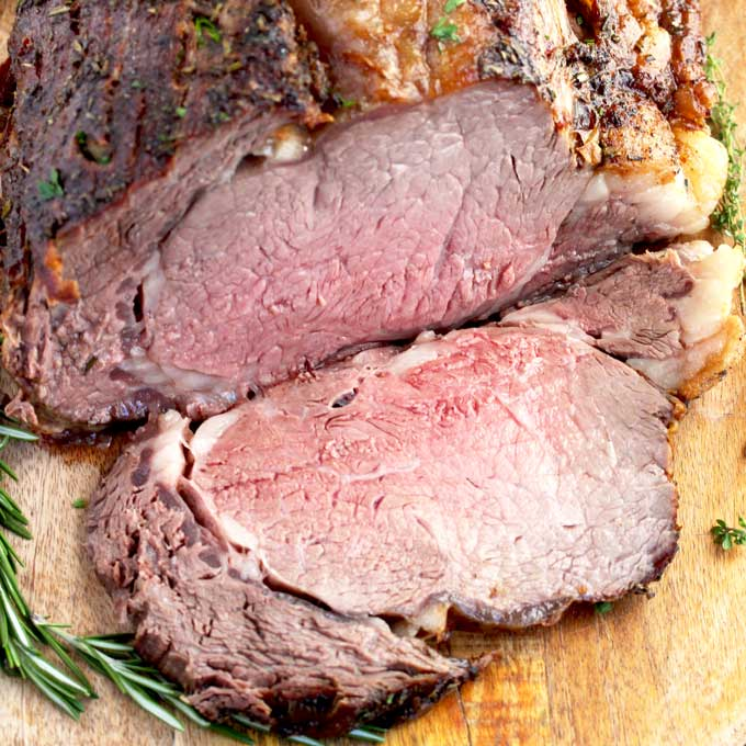 Prime Rib Roast Recipe With Garlic And Herbs