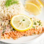Easy Baked Salmon Recipe with Lemon Herb Butter
