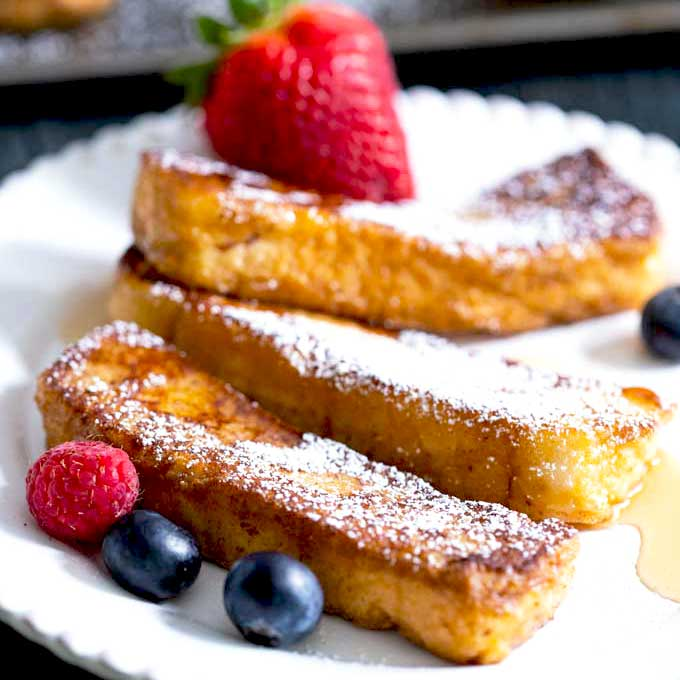 Best French Toast Sticks Recipe Lemon Blossoms