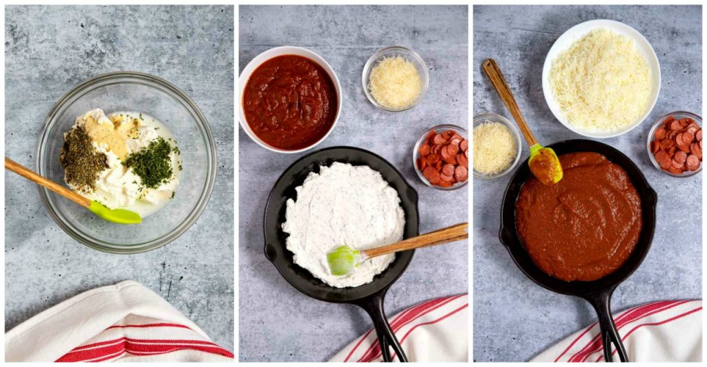 Step By Step Photos on How To Make this Dip