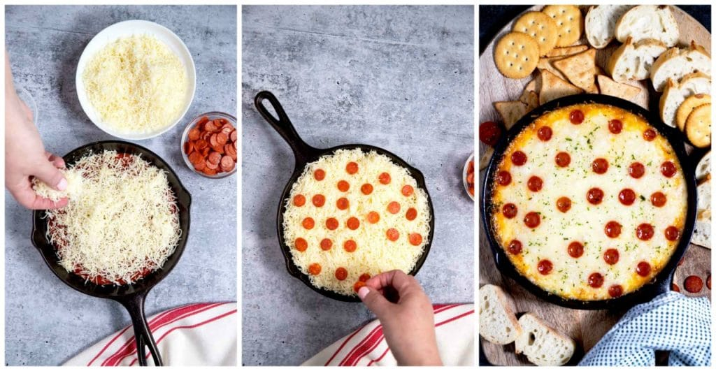 Step By Step Photos on How To Make this Cheesy Dip