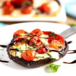 Grilled Portobello Mushrooms Caprese
