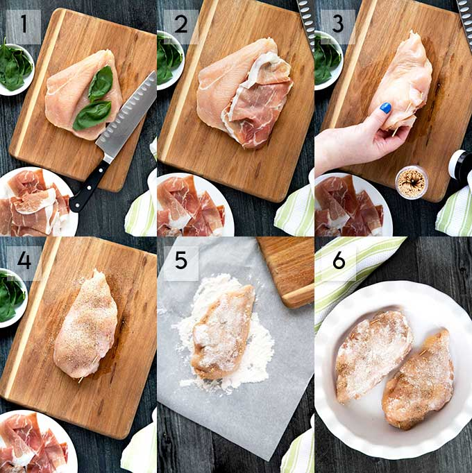 How To Stuff and Season Chicken Breast Step By Step Photos