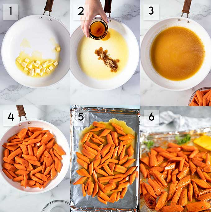 Step By Step Photos on How To Make Maple Oven Roasted Carrots