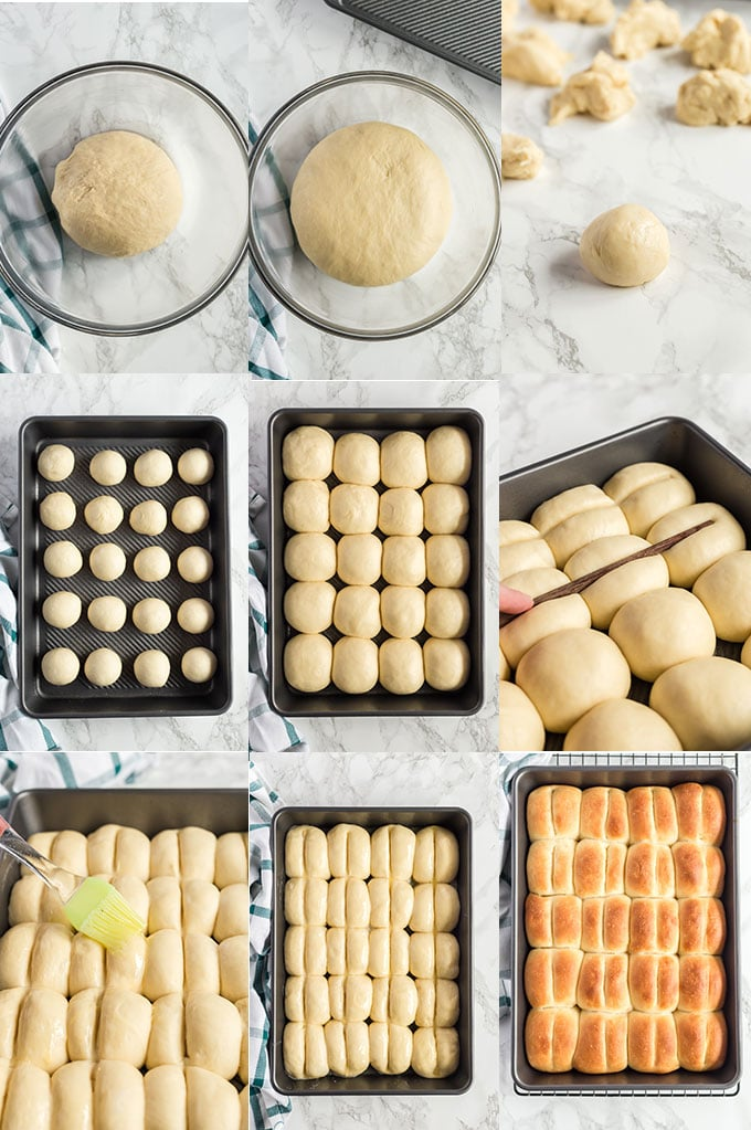 How To Make Yeast Bread Rolls Step By Step Photos.