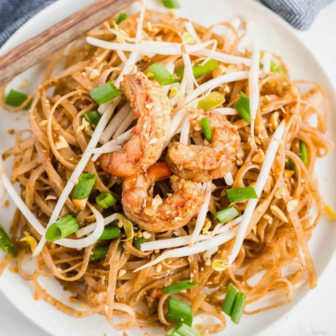 Shrimp Pad Thai Recipe Lemon Blossoms