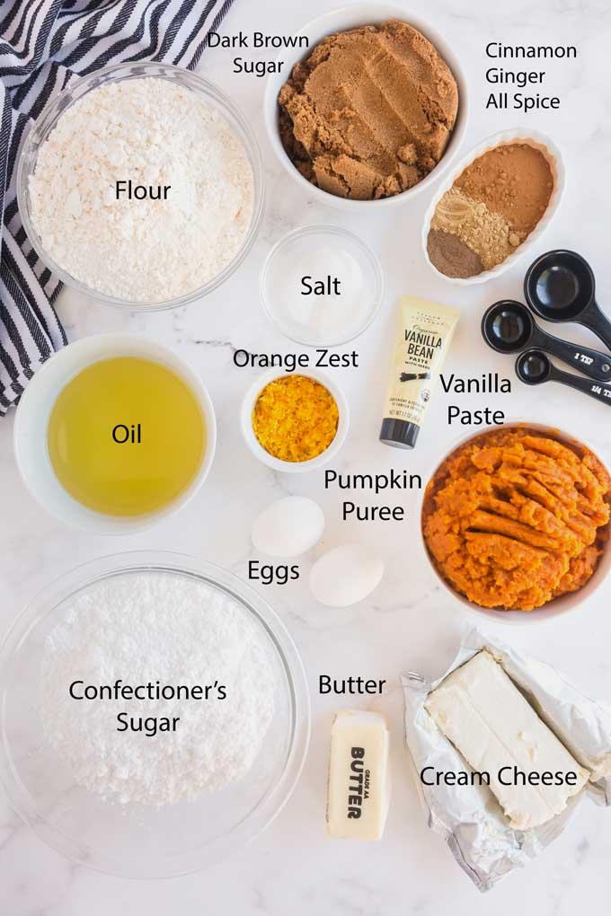 Ingredients to make Gobs Cookies