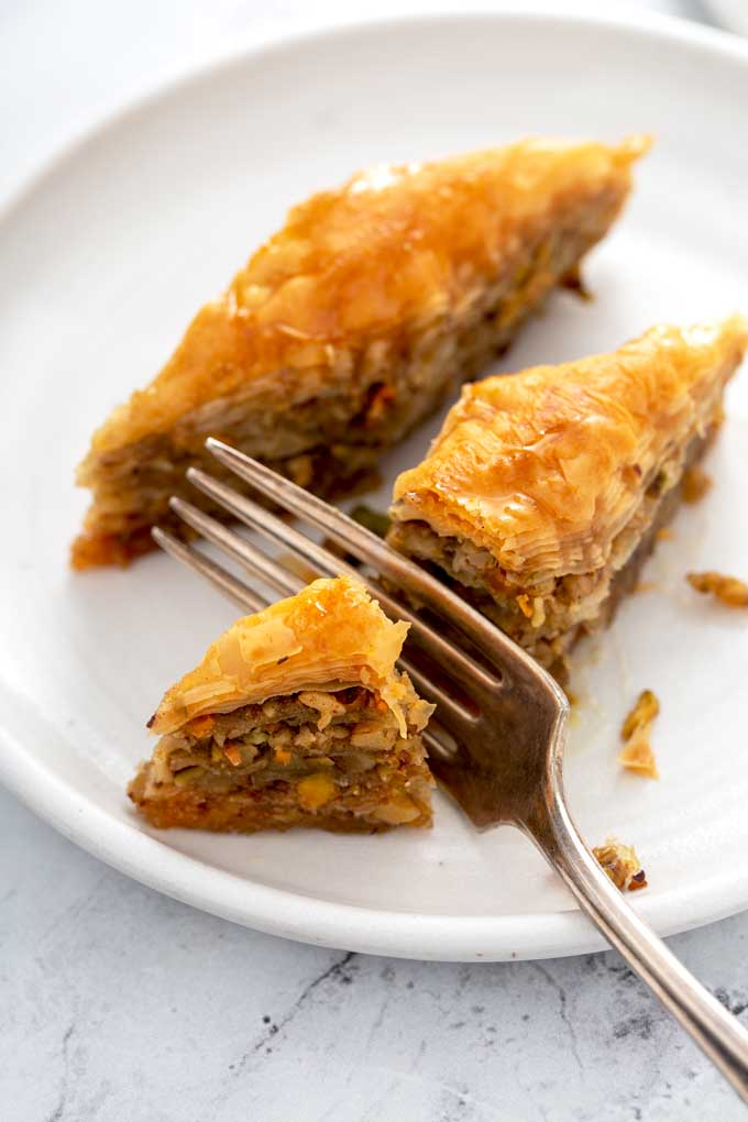 Quick And Easy Baklava Recipe Lemon Blossoms