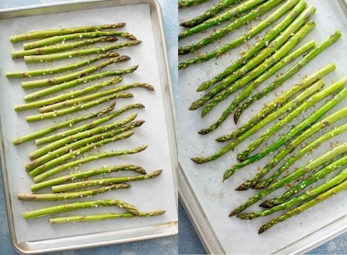Images on how to roast asparagus