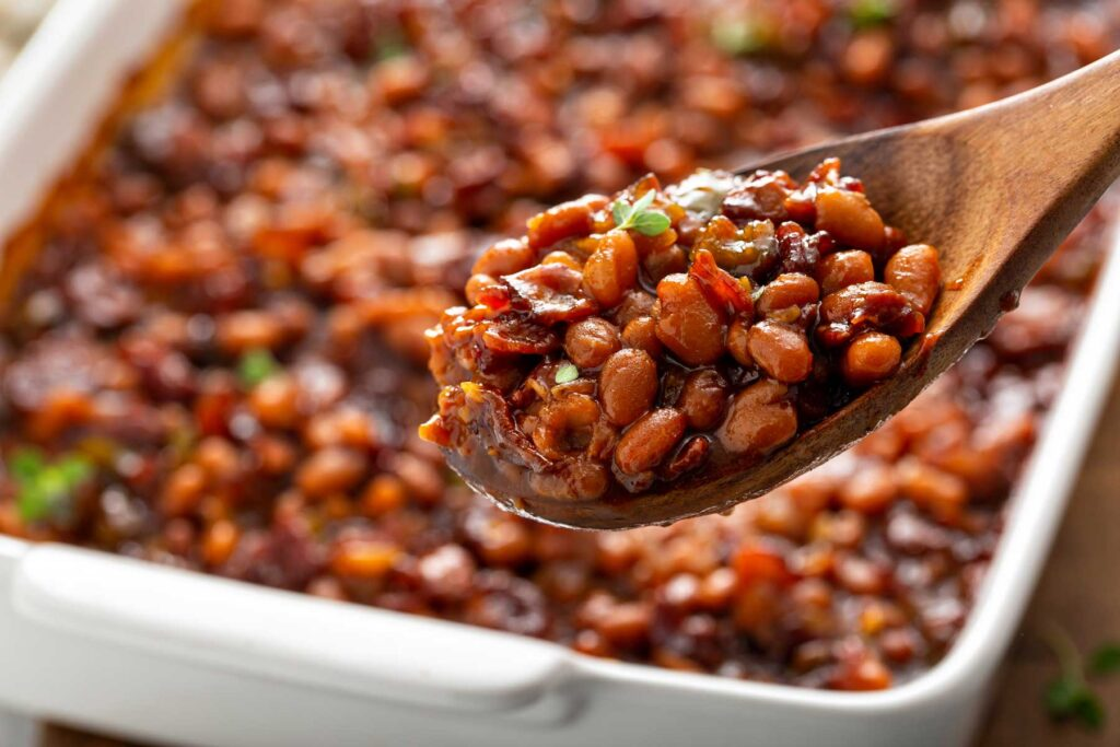 A spoonful of the best baked beans